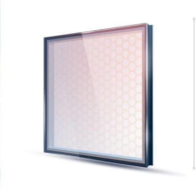 стекло с электрообогревом